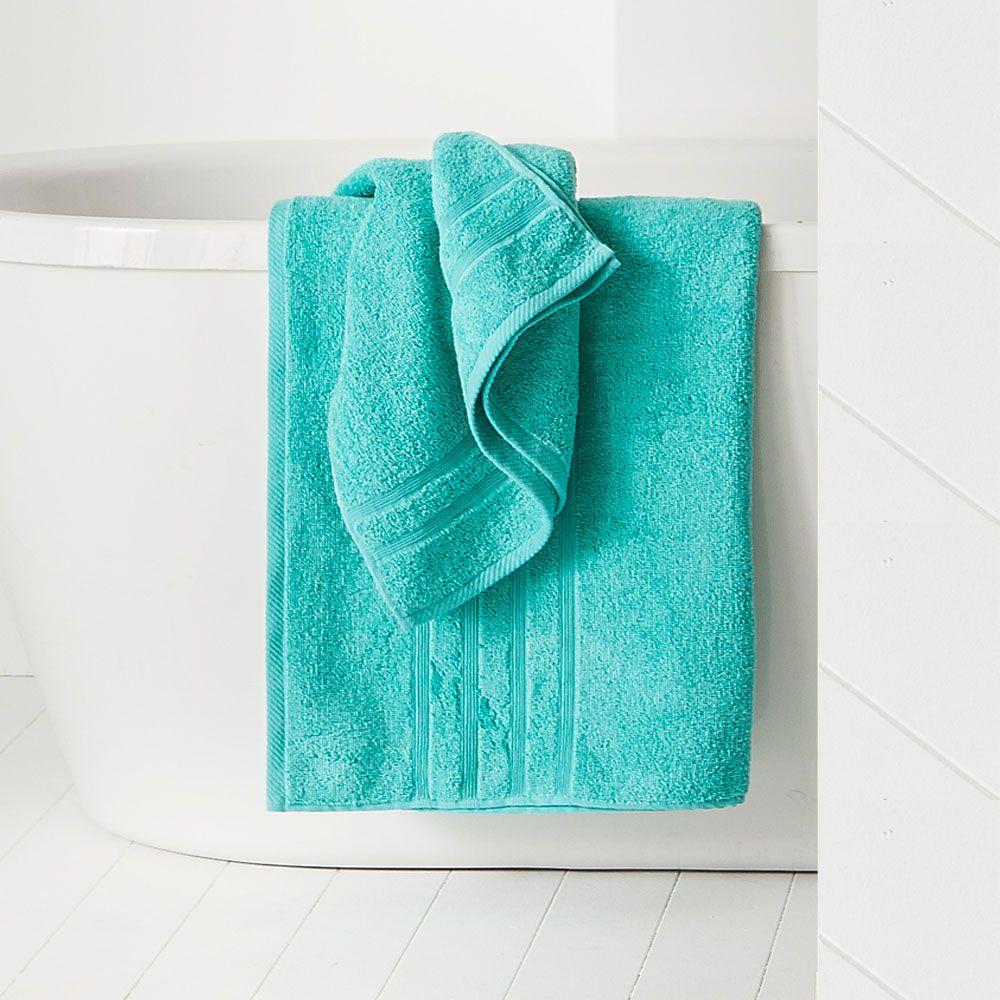 Maxi drap de bain - 500 gr/m² - 90 x 150 cm - Today : Couleur:Diabolo menthe