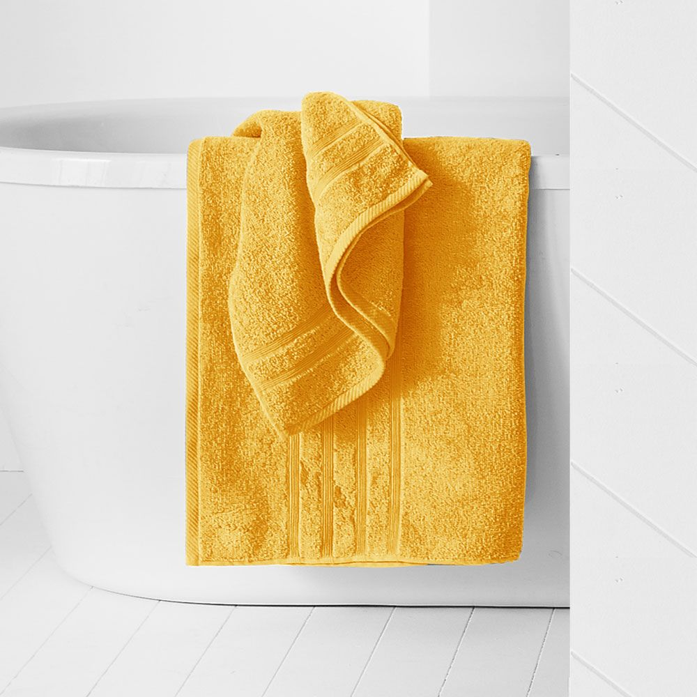 Maxi drap de bain - 500 gr/m² - 90 x 150 cm - Today : Couleur:Safran