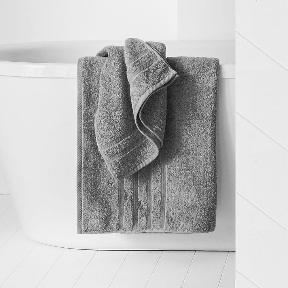 Maxi drap de bain - 500 gr/m² - 90 x 150 cm - Today : Couleur:Zinc