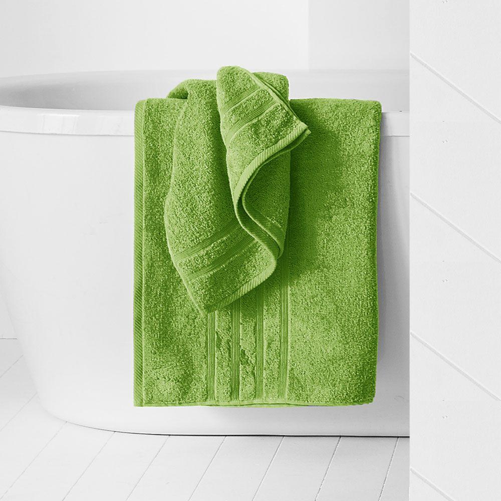 Maxi drap de bain - 500 gr/m² - 90 x 150 cm - Today : Couleur:Fougère