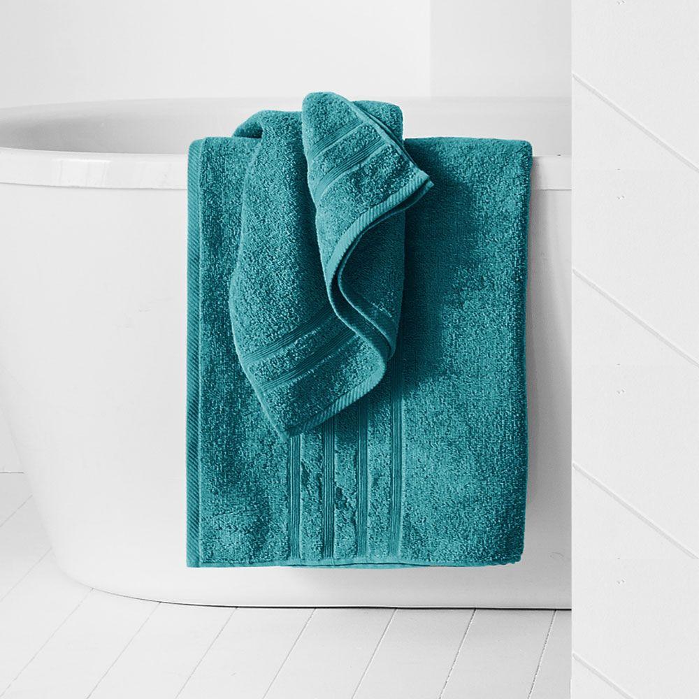 Maxi drap de bain - 500 gr/m² - 90 x 150 cm - Today : Couleur:Mer du sud