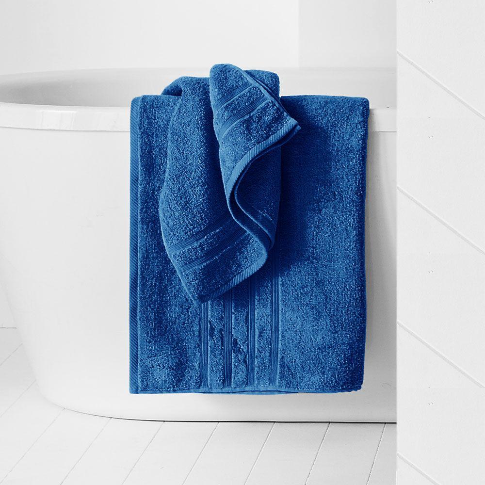 Maxi drap de bain - 500 gr/m² - 90 x 150 cm - Today : Couleur:Indigo