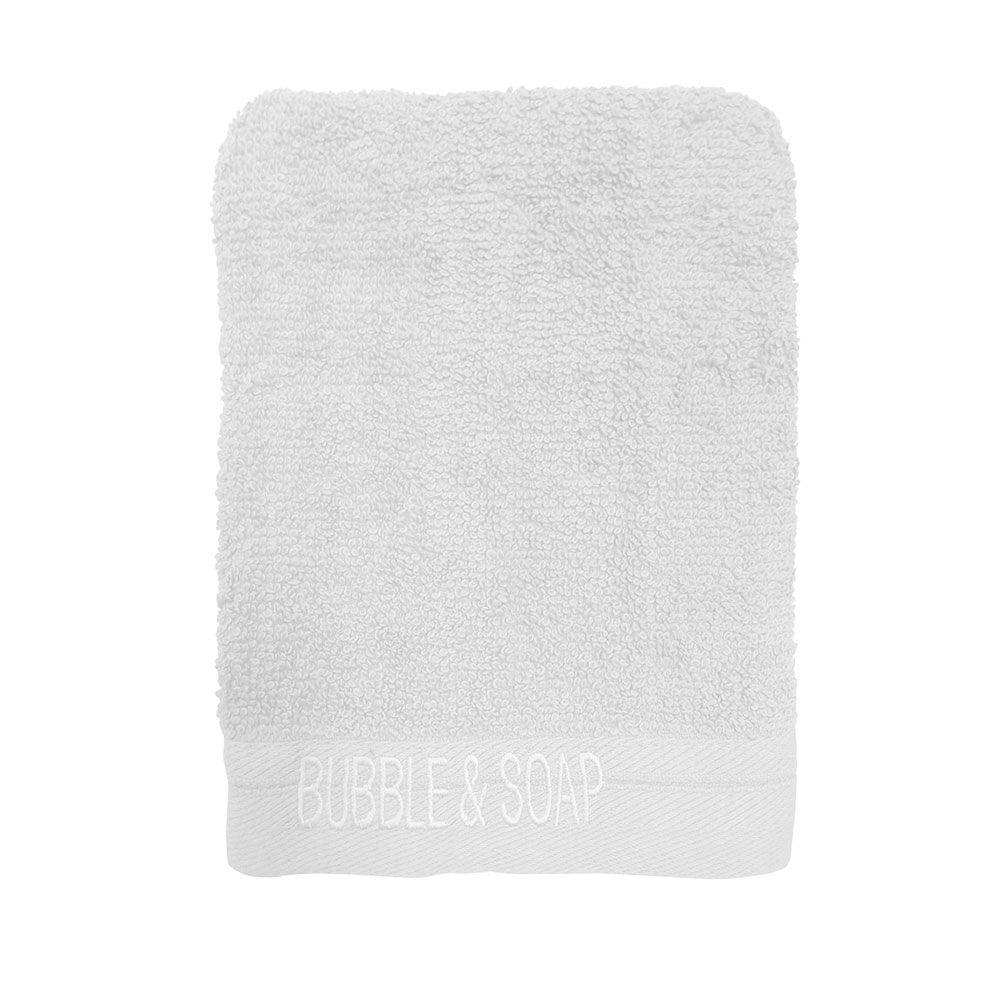 Ligne de bain brodé intemporel - Lot de 2 gants de toilette - 16 x 21 cm : Couleur today:chantilly
