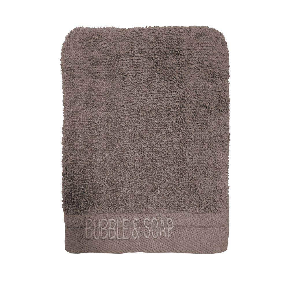 Ligne de bain brodé intemporel - Lot de 2 gants de toilette - 16 x 21 cm : Couleur today:bronze