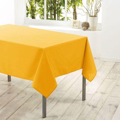Nappe carrée - 180 x 180 cm - Unie - Essentiel - Différents coloris