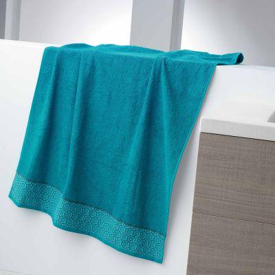 Drap de bain - 90 x 150 - Éponge - Adélie - Différents coloris