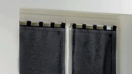 Fixations sans perçage ▷ Tringles/barres sur fenetre PVC, bois, alu