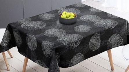 Toiles cirées carrées ▷ Nappes PVC carrées décoratives, divers thèmes