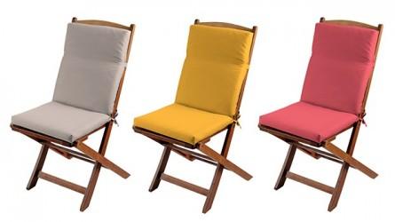 Coussins de fauteuil de jardin ▷ Déco de jardin de qualité et pas cher