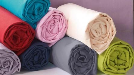 Draps housses 90 x 190 ▷ Draps de lit colorés, de qualité et pas cher