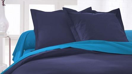 Taies d'oreiller carrées : grand choix de couleur, taie à prix doux  !